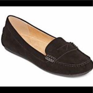 Liz Claiborne LC Amy Black Soft Loafer Size 9M